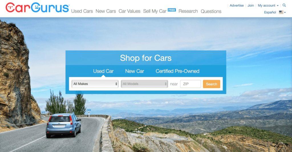 Cargurus Site de voiture doccasion 1024x535 - Trouver le site de vente de voiture d'occasion aux etats unis